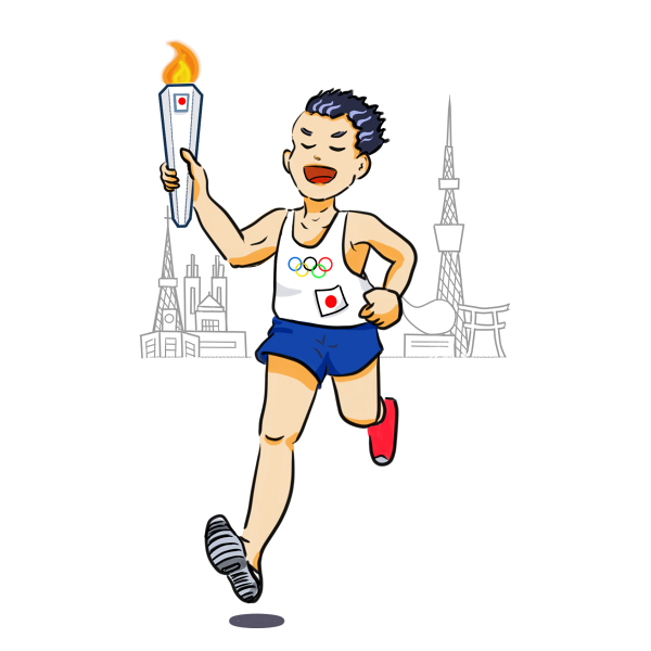 東京オリンピック・聖火リレーのコースと芸能人・スポーツ選手の聖火ランナー